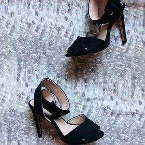 Zara Ankle Buckle Strap Heels
